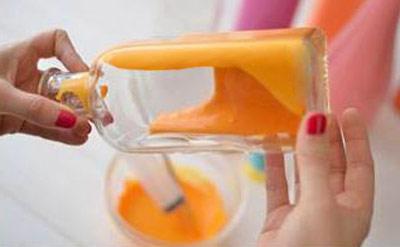 درست کردن گلدان با بطری های ساده