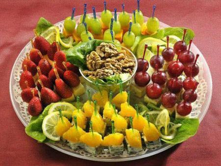 تزیین سبد میوه, تزیین سبد میوه شب یلدا