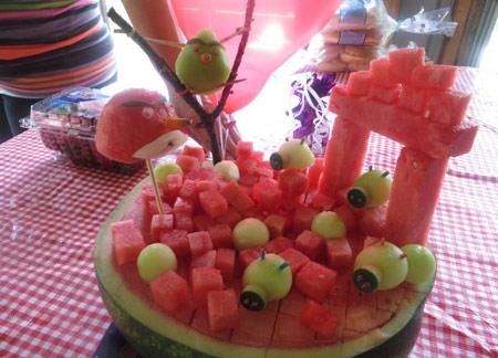 تزیین هندوانه, تزیین هندوانه شب یلدا