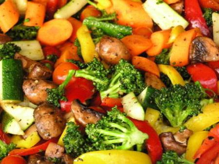 پخت غذاهای گیاهی,نحوه پخت سبزیجات