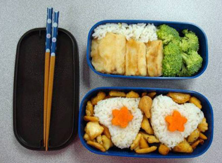 تصاویردیدنی از تزئین غذای کودک