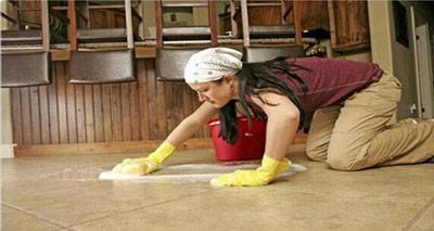 تمیز کردن کف پوشهای سرامیکی,نحوه تمیز کردن سرامیک ها