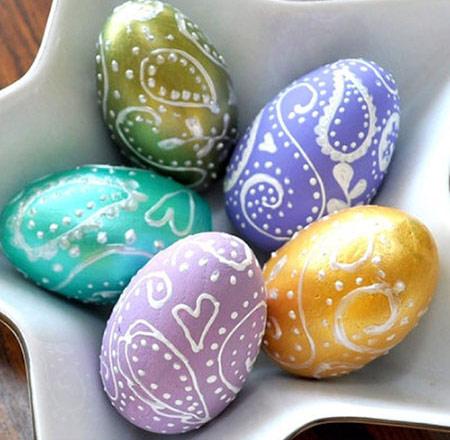 تزیین تخم مرغ, تزیین تخم مرغ هفت سین