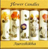 نحوه تزیین شمع هفت سین با برگ های پاییزی