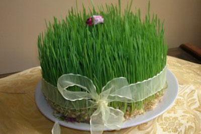 سبزه انداختن,عید نوروز