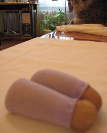 آموزش ساخت عروسك با جوراب نازك, درست کردن عروسك با جوراب