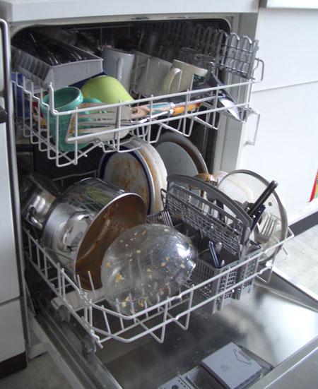ید ماشین ظرفشویی, نحوه استفاده از ماشین ظرفشویی