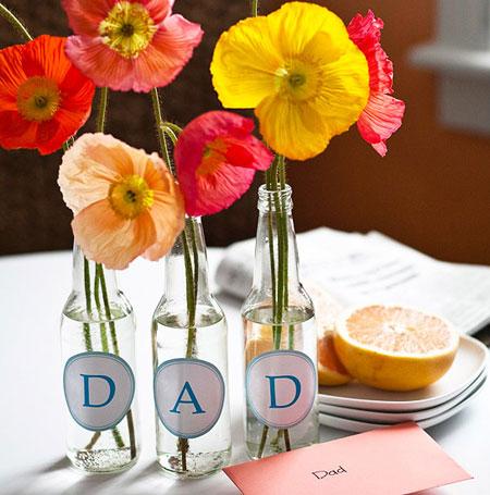 کاردستي هايي براي هديه روز پدر