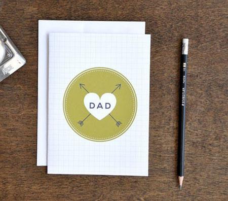 کارت پستال روز پدر, مدل کارت پستال روز پدر