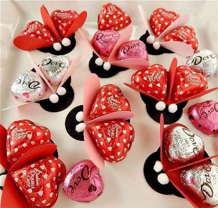کاردستی برای روز عشق,کاردستی عاشقانه