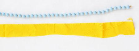 ساخت گردنبند با پارچه, آموزش تصویری ساخت گردنبند