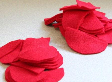 دوخت گل روی کوسن, آموزش تصویری دوخت گل روی کوسن