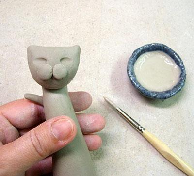 آموزش سفالگری, آموزش تصویری ساخت مجسمه