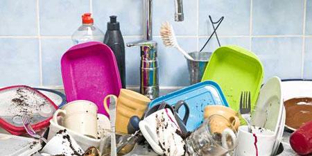 نحوه شستن سینک, جلوگیری از پوسیدگی دستکش