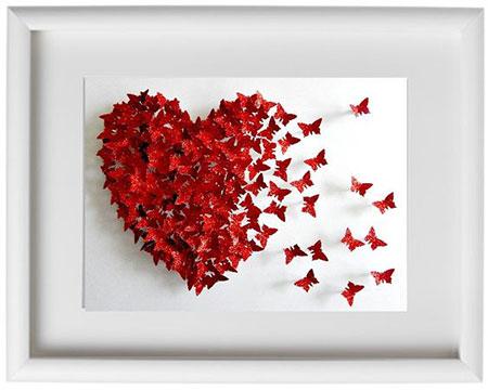 کاردستی ساده برای روز عشق,کاردستی روز عشق