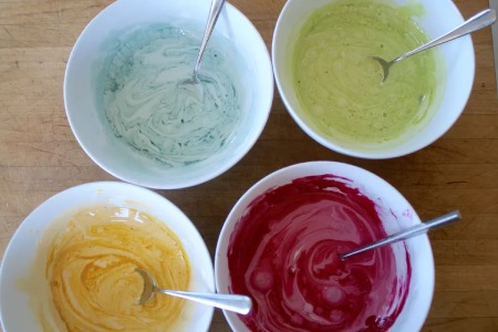 درست کردن رنگ خوراکی, رنگ خوراکی طبیعی