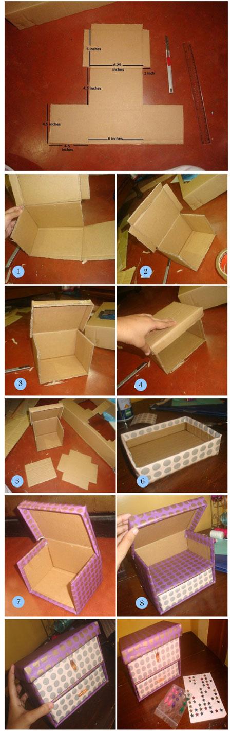 طرز ساخت جعبه های تزیینی, ساخت باکس وسایل تزئینی, آموزش تصویری ساخت باکس, ساخت باکس های تزیینی, نحوه ساخت باکس وسایل تزئینی, طرز ساخت باکس جواهرات,آموزش ساخت باکس, ساخت باکس جواهرات