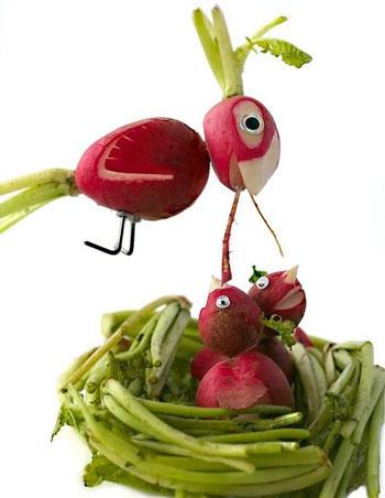 تزئین میوه ها,آموزش میوه آرایی