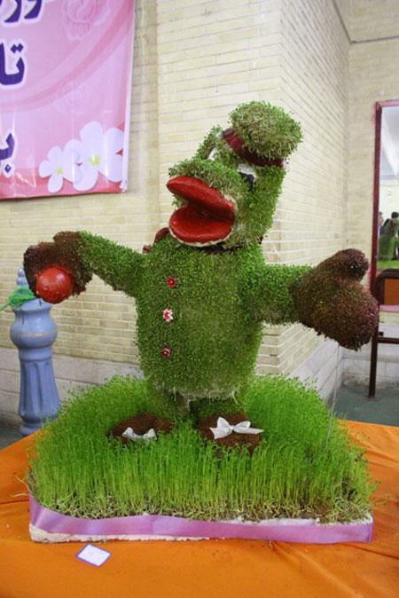 عکسهای مدل سبزه هفت سین سال 96,کاشت سبزه هفت سین 96