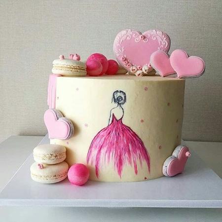 تزیین ساده کیک,روش تزیین کیک ساده