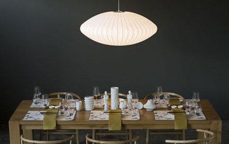 چیدمان میز شام,دکوراسیون میز شام