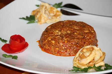 غذای شمالی طرز تهیه میرزا قاسمی تزیین میرزا قاسمی بهترین سایت آشپزی آموزش غذای محلی آموزش غذای ایرانی آموزش آشپزی
