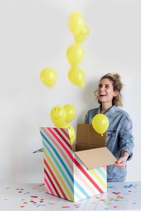 روش هایی برای سوپرایز تولد,نمونه هایی برای سوپرایز تولد