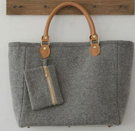 مدل های درست کردن کیف های نمدی, ایده هایی برای درست کردن کیف با نمد