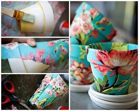 نحوه تزیین گلدان,تصاویر تزیین گلدان