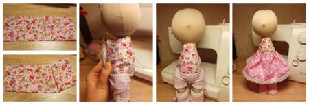 آموزش ساخت عروسک روسی, نحوه ی ساخت عروسک روسی
