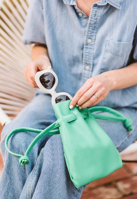 آموزش تصویری دوخت کیف چرمی