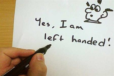 ع های تبریک روز جهانی چپ دست, کارت پستال های روز چپ دست ها