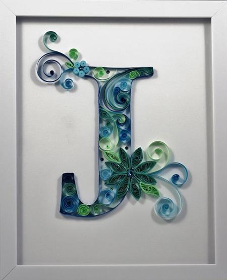 تصاویر طراحی حروف J,حرف J