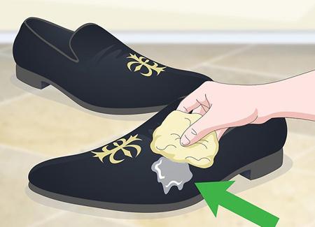 پاک کردن کفش مخمل, نگهداري از کفش مخمل