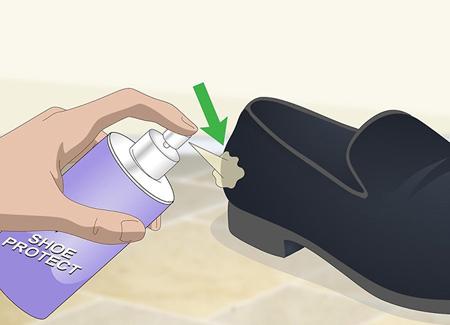 نکاتي براي تميز کردن کفش مخمل,تميز کردن کفش مخمل از گرد و غبار