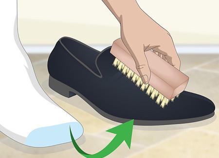 مهارت هاي تميز کردن کفش مخمل,اصول تميز کردن کفش مخمل