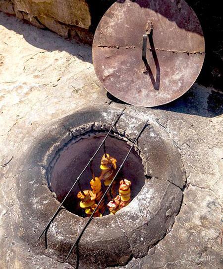 آموزش تصویری ساخت آتشدان, ساخت تصویری منقل و آتشدان
