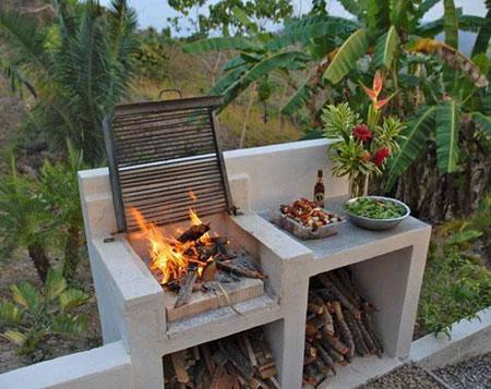 ایده هایی برای درست کردن منقل و آتشدان, طراحی و ساخت منقل و آتشدان