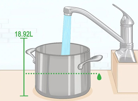 درست کردن آب مقطر,نحوه درست کردن آب مقطر