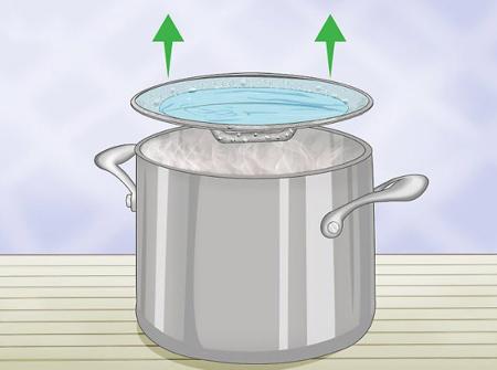 تهیه آب مقطر خانگی, طرز درست کردن آب مقطر