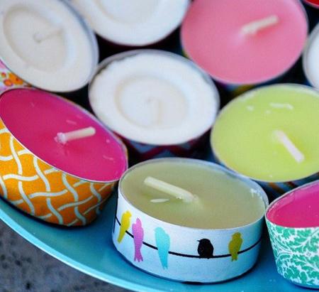 راه و روش درست کردن شمع,روش های مختلف برای ساخت شمع