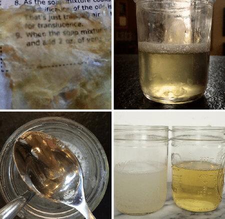 طرز درست کردن صابون مایع کاستیا,نحوه ی درست کردن صابون مایع کاستیا