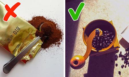 نگهداری دانه قهوه,فنجان مناسب قهوه