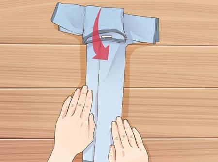 مراحل درست کردن پوشک با تیشرت بچگانه, آموزش درست کردن تیشرت در خانه