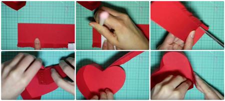 باکس هدیه به شکل قلب, ایده هایی برای ساخت باکس هدیه