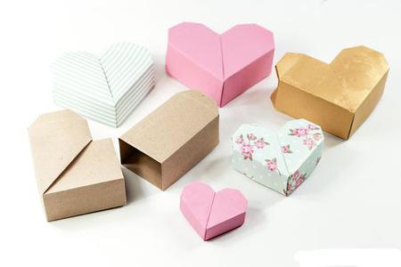 باکس هدیه قلبی, آموزش ساخت باکس هدیه