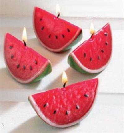 درست کردن شمع هندوانه ای, نحوه درست کردن شمع هندوانه ای