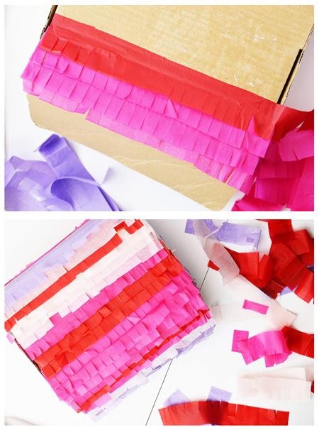 آموزش مرحله ای ساخت باکس هدیه,نحوه ساخت باکس هدیه