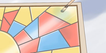 مراحل ساخت پنجره های رنگی, نکاتی برای درست کردن پنجره های رنگی