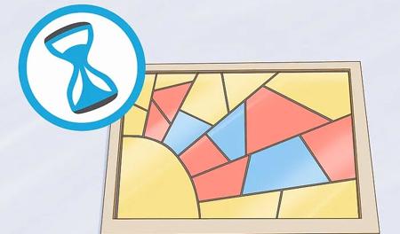 نحوه ساخت پنجره های رنگی,مراحل ساخت پنجره های رنگی
